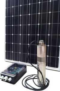 Solar Pumps | Solar Power Submersible Bore Pump with 190W ...