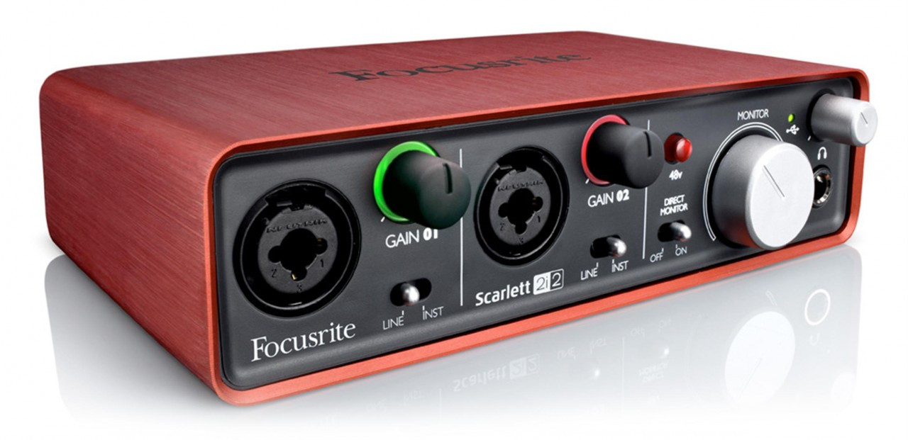 Scarlett 2i2 Focusrite Scarlett 2i2 Usb Audio Interface Midwest Pro Sound And
