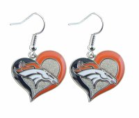 Denver Broncos Logo Earrings