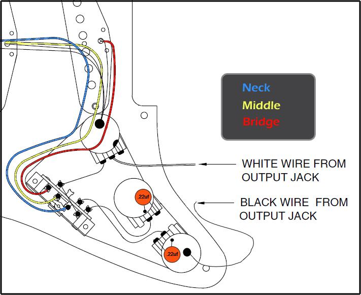 Fender Standard Wiring Diagrams - Wwwcaseistore \u2022