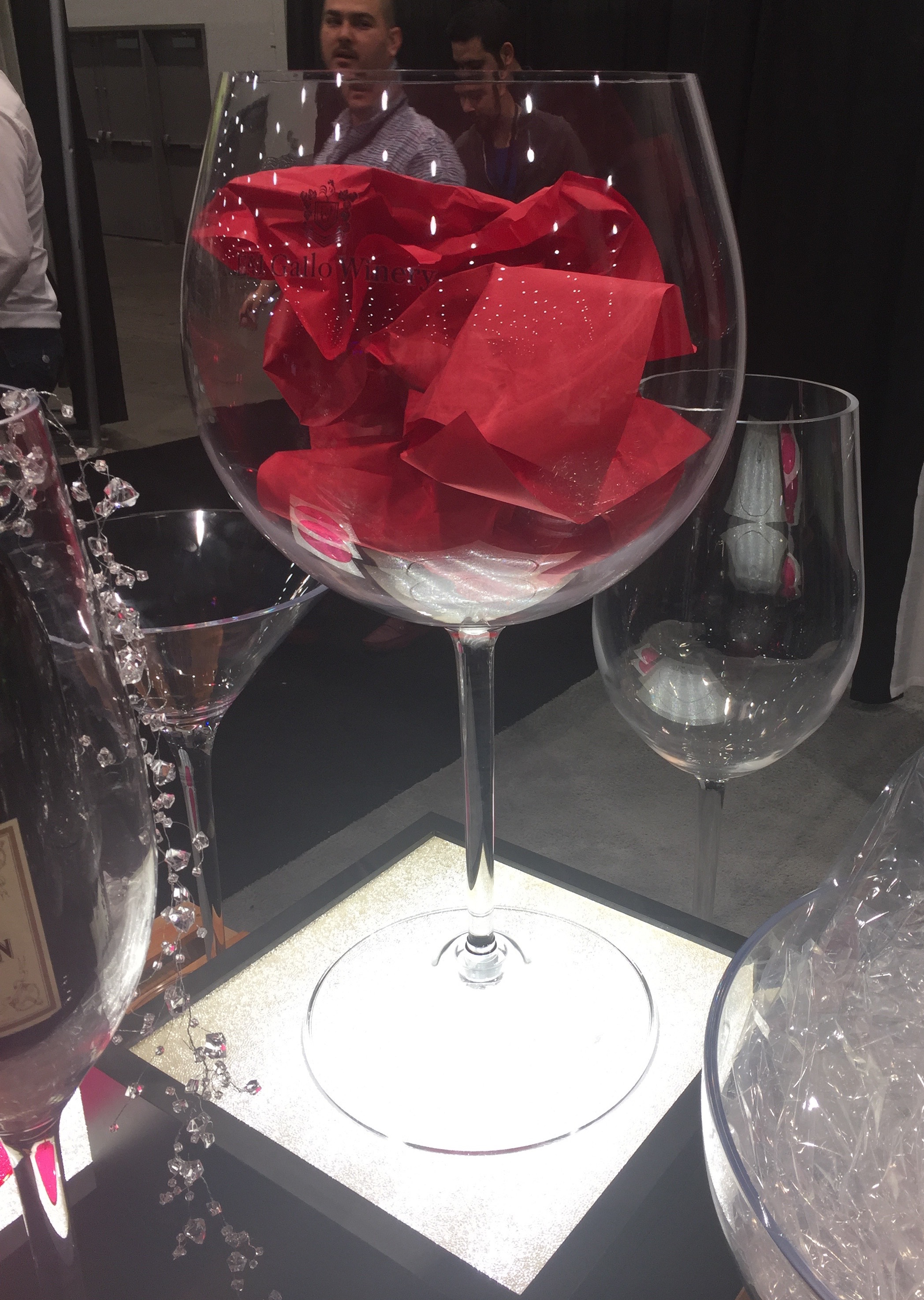 Giant Wine Glass Decorations Jumbo Huge Drink Cups Martini Cup Margarita Bowl Wine