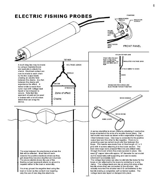 electronic fish stunner diagram