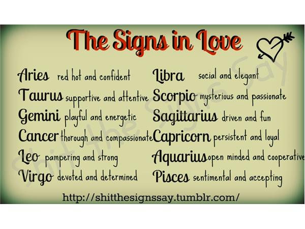 Zodiac sign dating chart  Insisted-clausesml