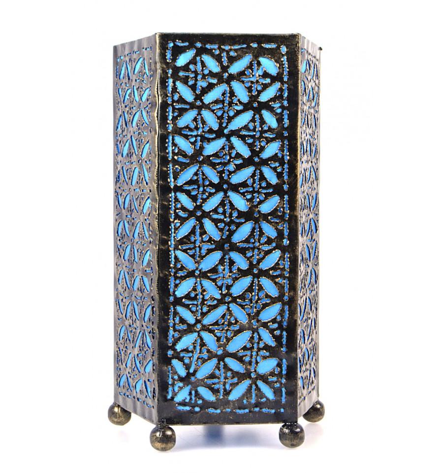 Lampe A Poser Bleu Turquoise