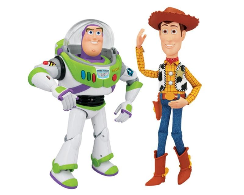 Toy Story 3 Wallpaper Hd Pareja Woody Y Buzz Lightyear Thinkway Toys 7193722 Coppel