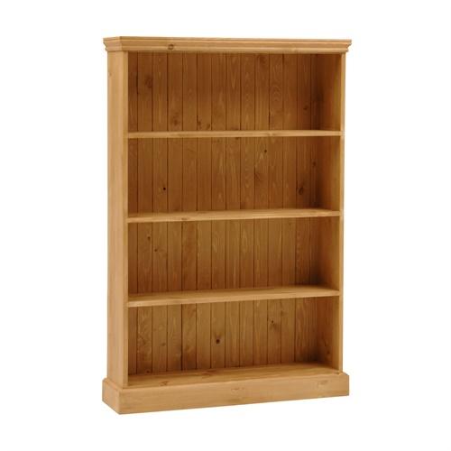 Dorchester Pine Extra Wide 5ft Bookcase 4 Shelves M262