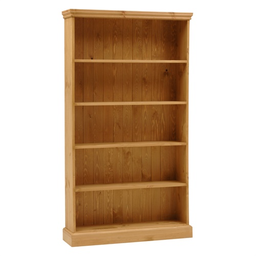 Dorchester Pine Extra Wide 6ft Bookcase 5 Shelves M264