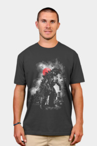 Terror! Lookout it's Godzilla! Shirts