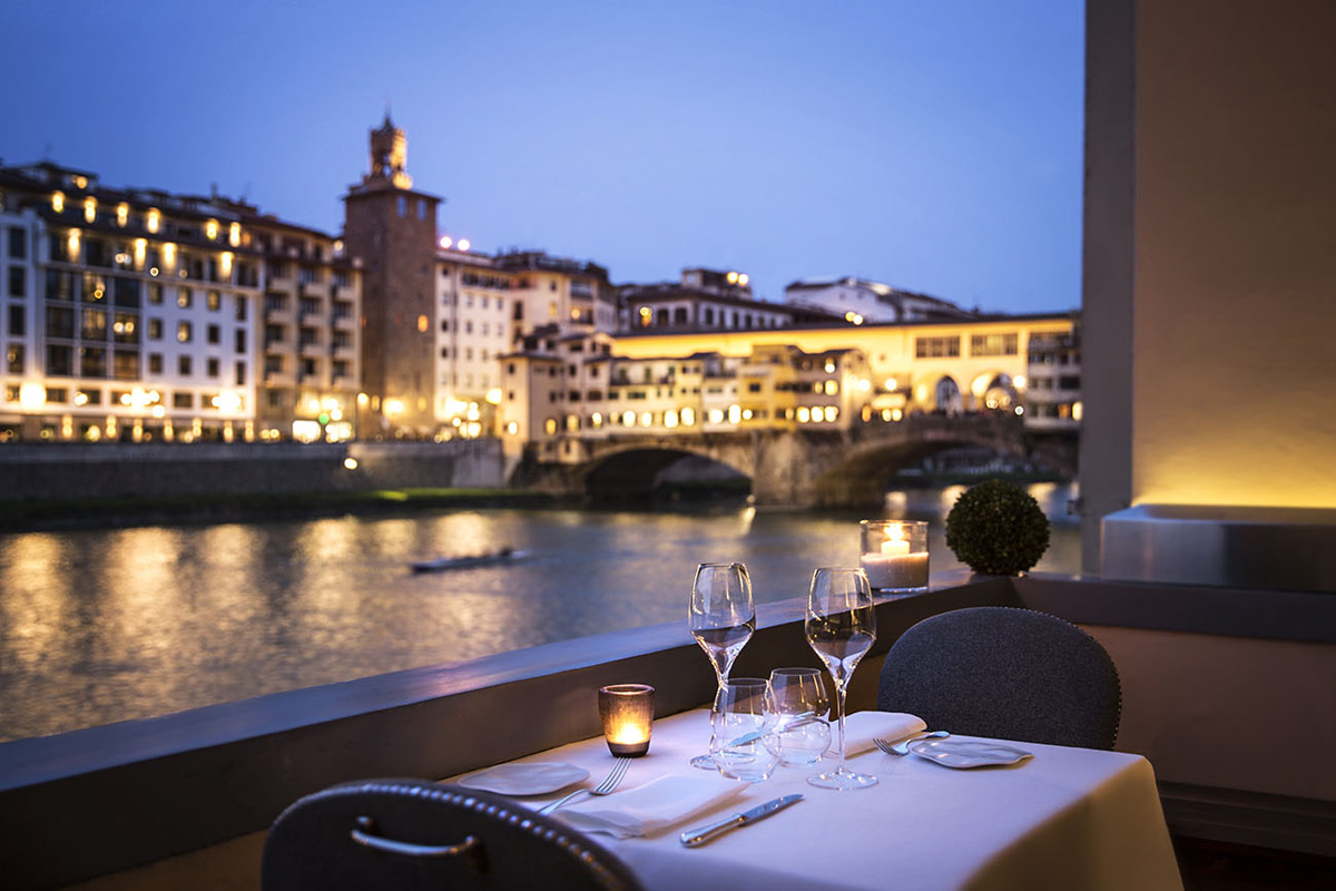 Il Ponte Just Eat Romantic Restaurants In Florence For A Special Occasion Romantic