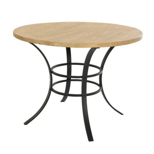 Table Jardin Ronde Bois | Table Ronde / De Jardin / Contemporaine ...