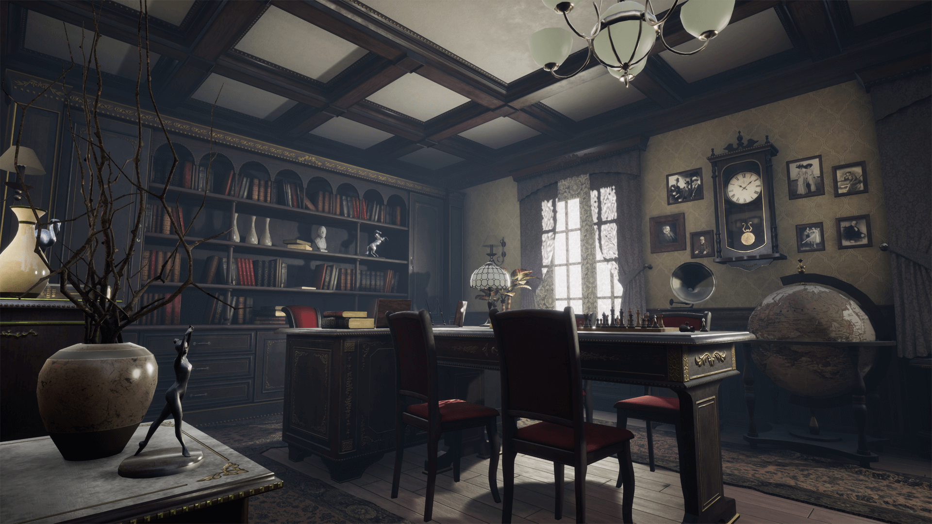 Klassiek Kantoor Office Old Modular By Alex Fantom In Environments Ue4