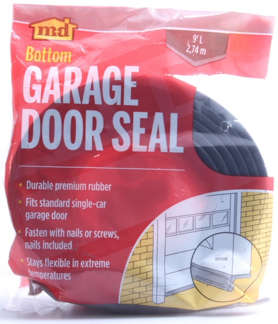 Garage Door Brush Seal Nz M D Products 03723 2 74m Rubber Garage Door Bottom Seal