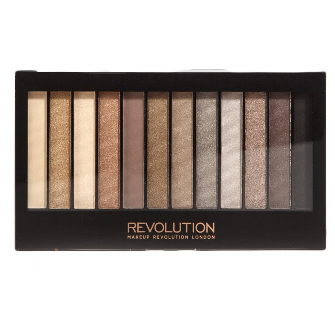 Mur En Palette Makeup Revolution Naked Nudes Eyeshadow Redemption Palette Iconic 2
