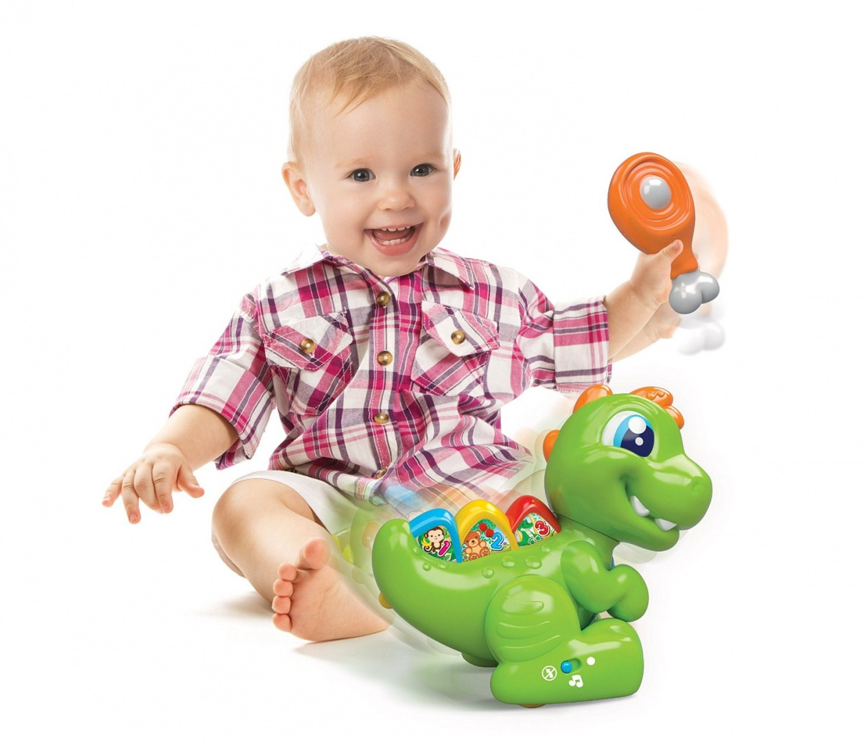 Tappeto Puzzle Baby Smile Clementoni Baby T Rex