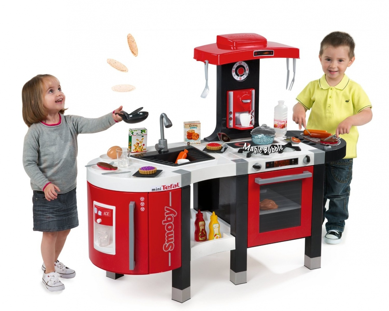 Smoby Bubble Küche Smoby 311201 Tefal French Touch Kitchen Bubble
