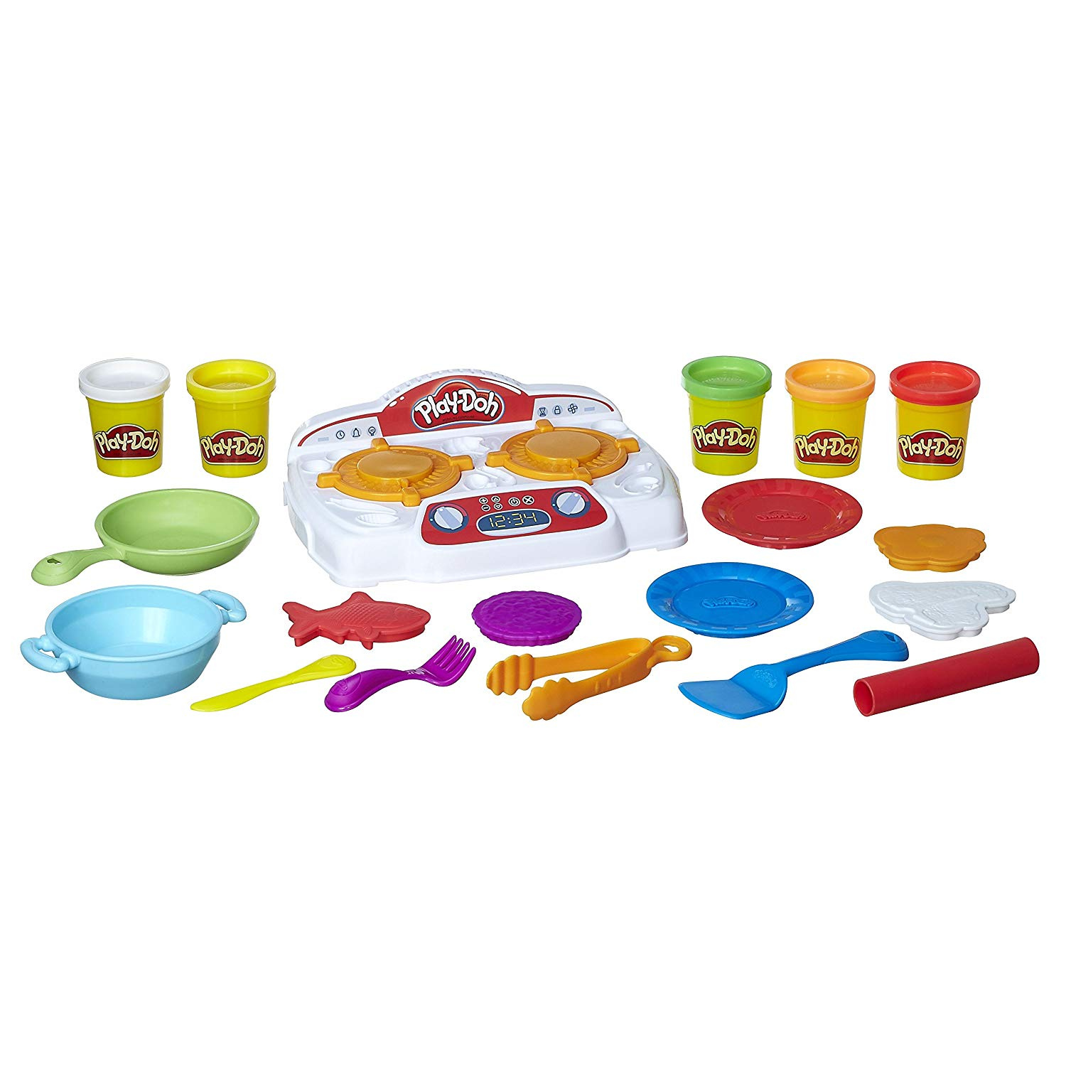 Play Doh Knet Küche Play Doh Kitchen Creations Sizzlin Stovetop Toys