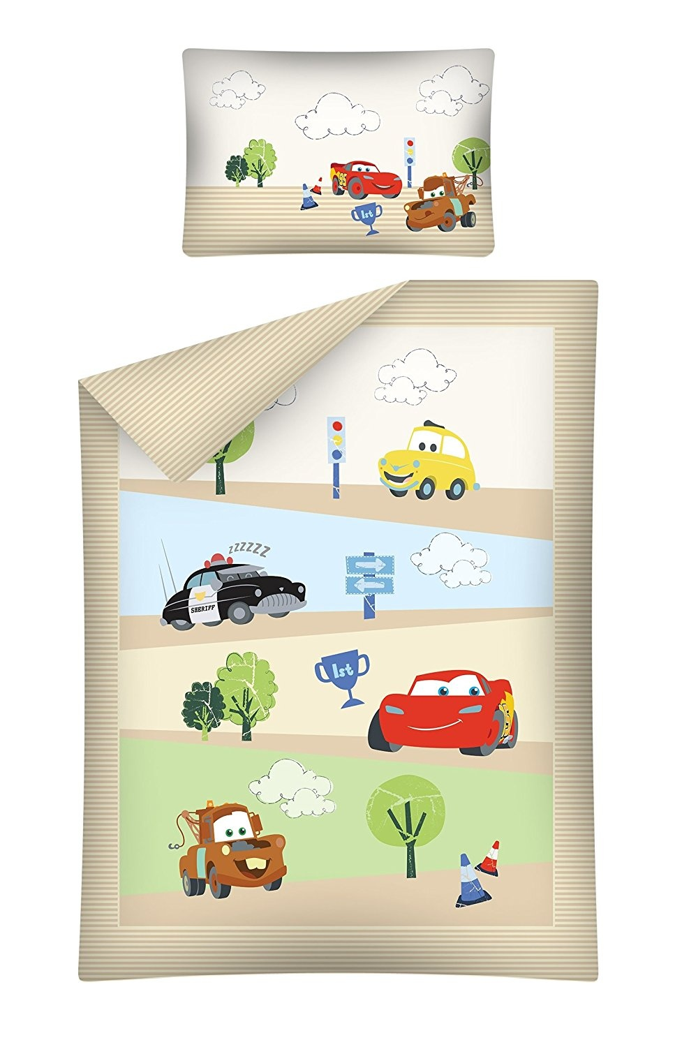 Bettwäsche Cars 100x135 Disney Cars Baby Bedding Duvet Cover Pillowcase 100x135 40x60 Cm