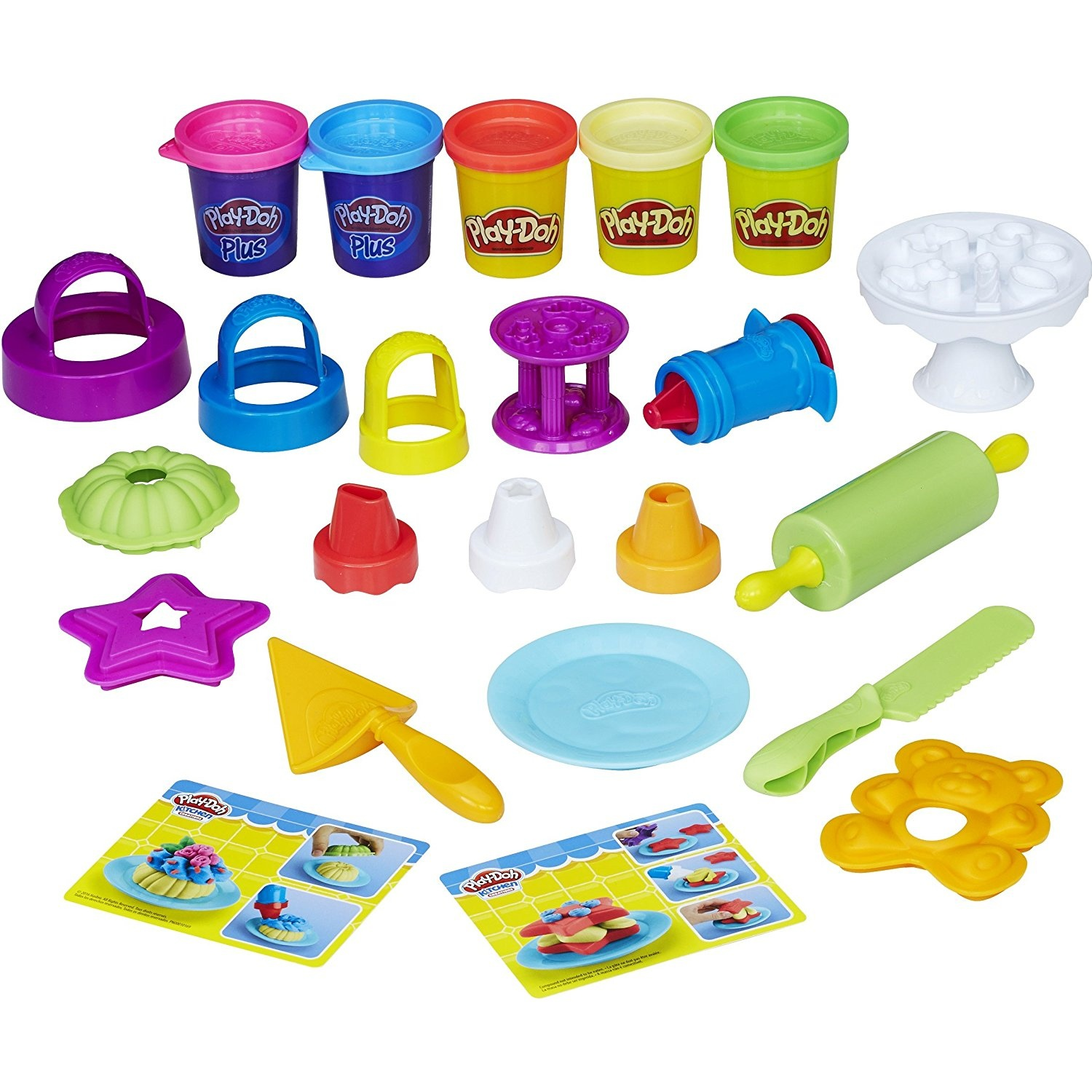 Play Doh Knet Küche Play Doh B9741eu4 Kitchen Creations Frost N Fun Cakes Mould Set