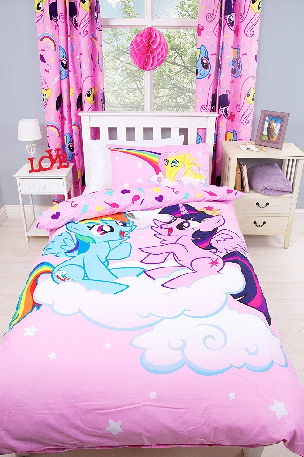 My Little Pony Bettwäsche My Little Pony Single Duvet Quilt Cover Set