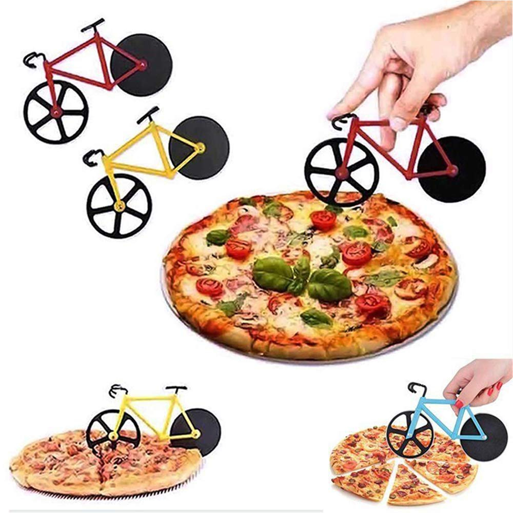 Cucina Vita Bicycle Pizza Cutter Gzq Bicycle Pizza Cutter Stainless Steel Pastry Wheel Cutter