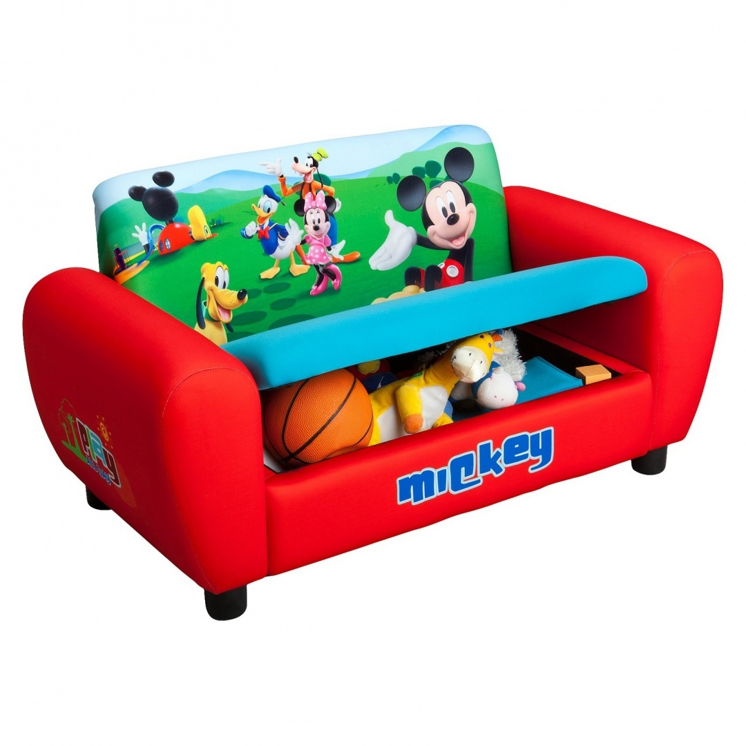 Kids Sofa Australia Delta Disney Mickey Mouse Upholstered Sofa By Unbranded Shop
