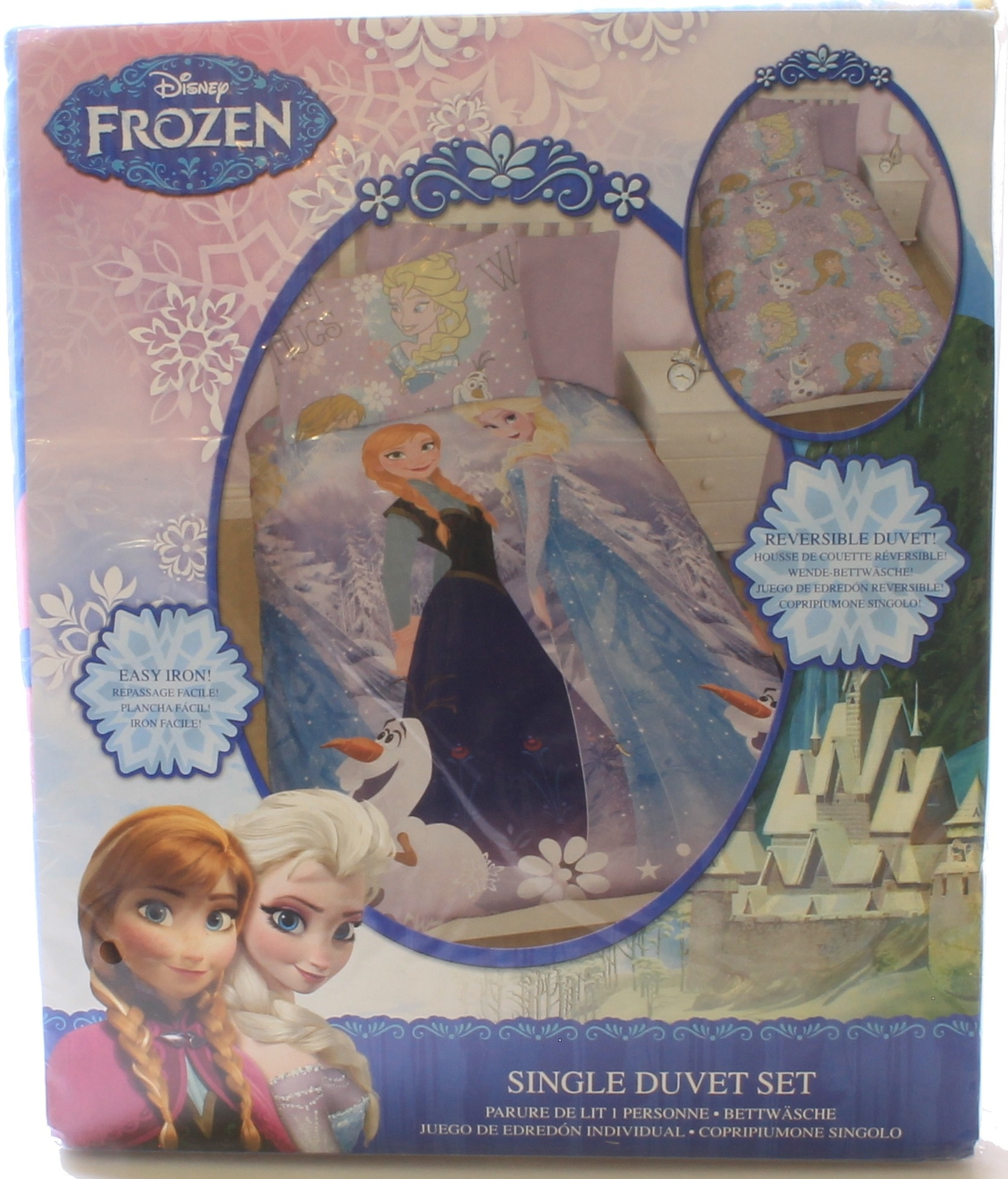 Bettwäsche Mia And Me Disney Frozen Crystal Single Rotary Reversible Duvet Set