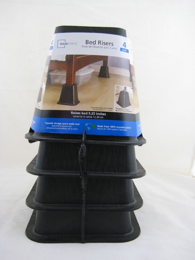 Bed Risers Kmart Australia Mainstays Bed Risers 4 Pack Raises Bed 13cm