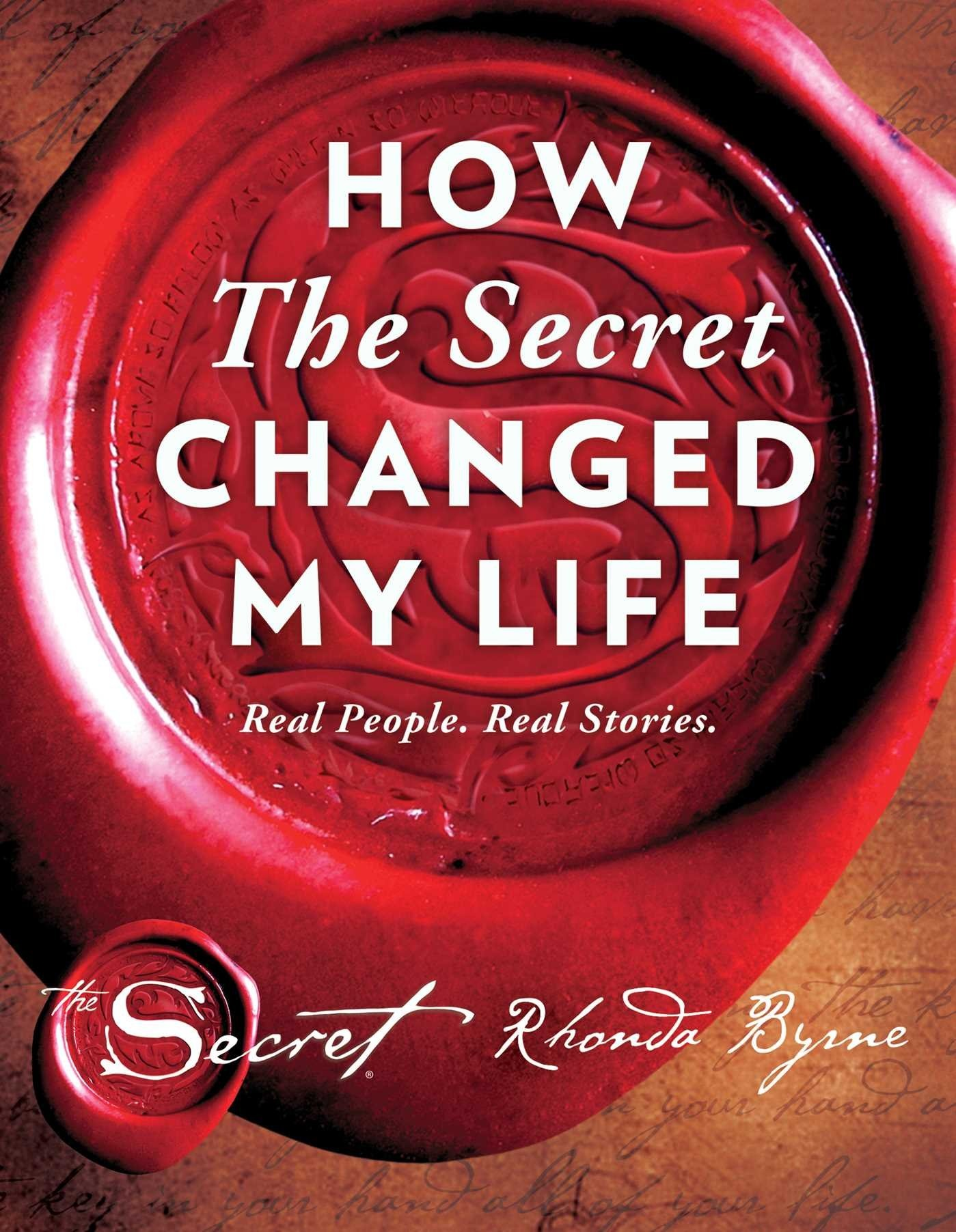 Heroe Libro Rhonda Byrne How The Secret Changed My Life Real People Real Stories