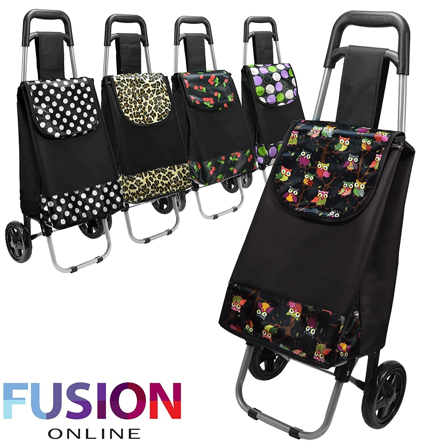 Shopping Trolley Bag On Wheels Australia Large Capacity Light Weight Wheeled Shopping Trolley Push Cart Bag With Wheels Pattern Design