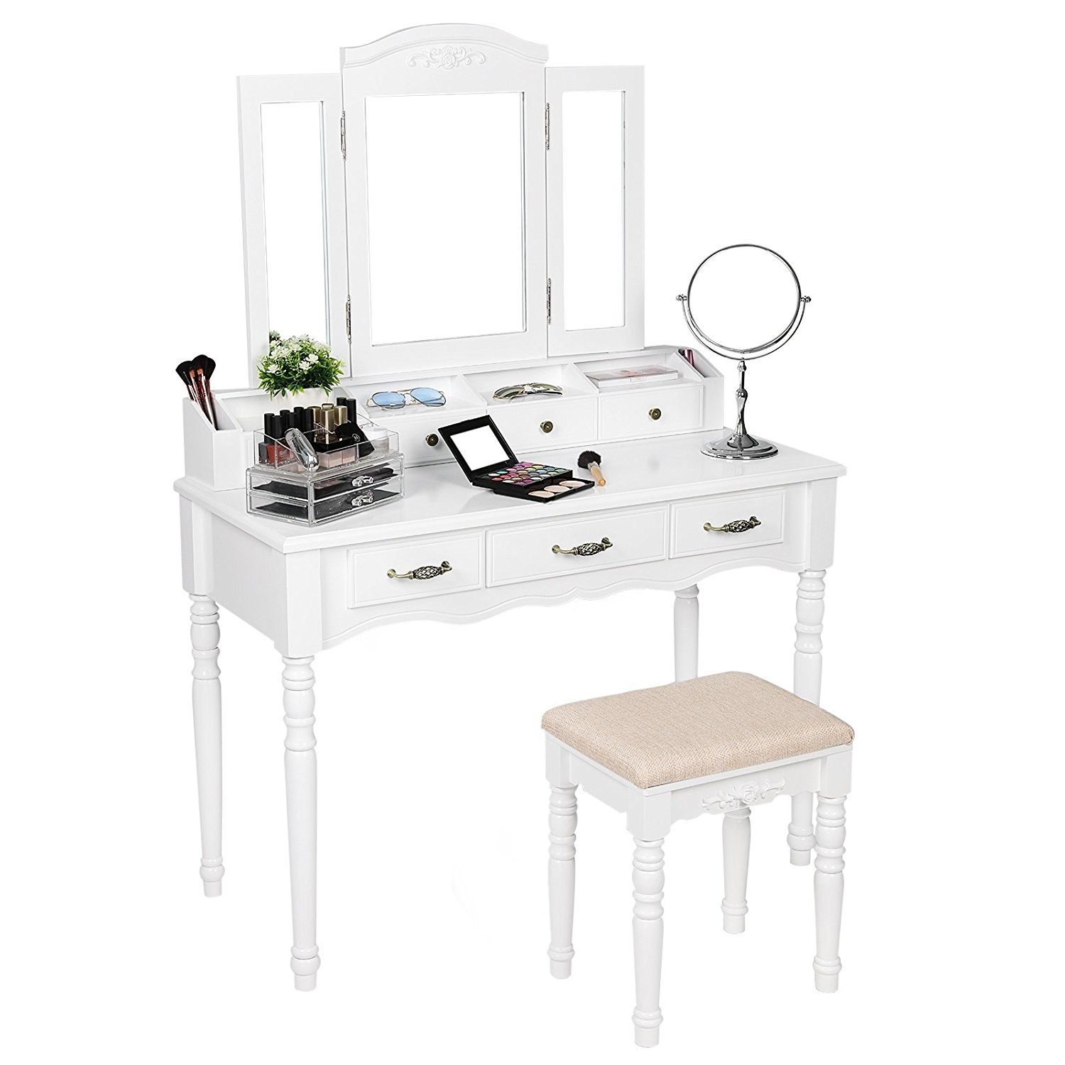 Makeup Table Perth White Makeup Vanity Table Australia Saubhaya Makeup