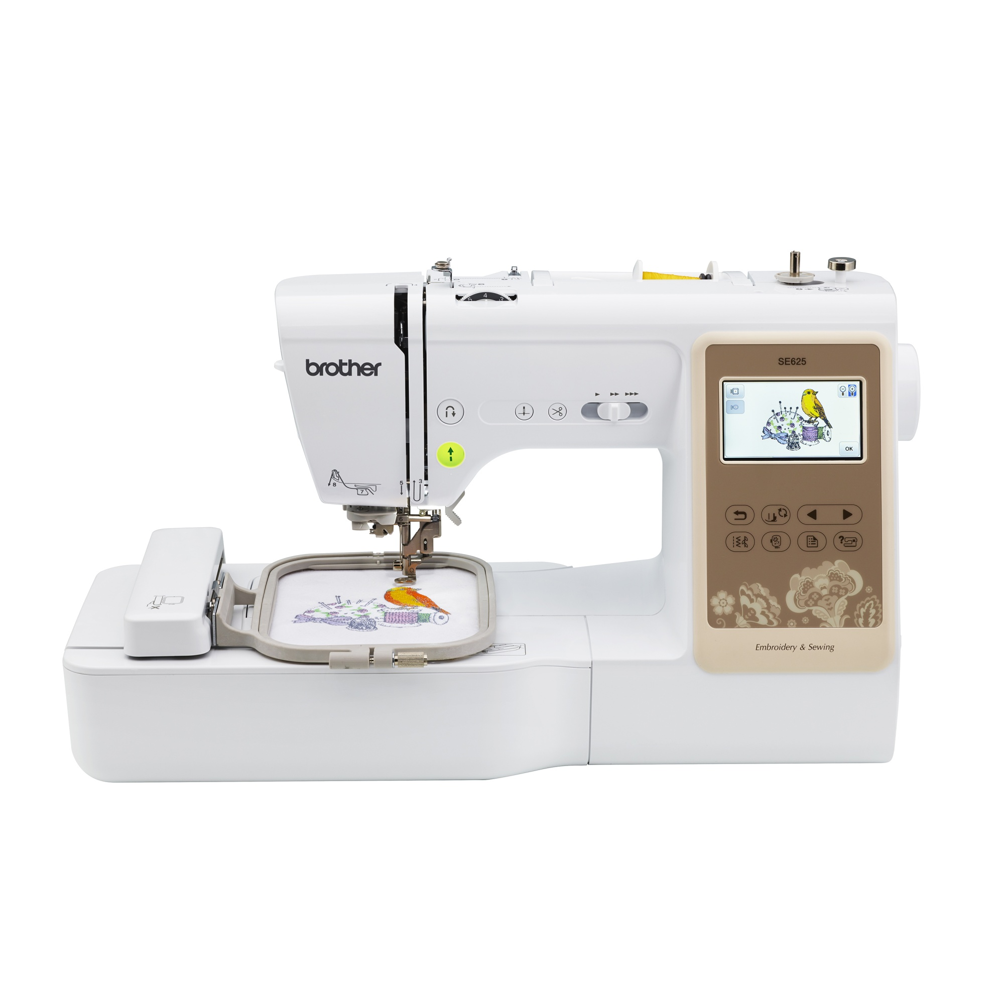 Cheap Sewing Machines Australia Brother Se625 Combination Computerised Sewing And 4x4 Embroidery Machine With Colour Lcd Display 280 Total Embroidery Designs