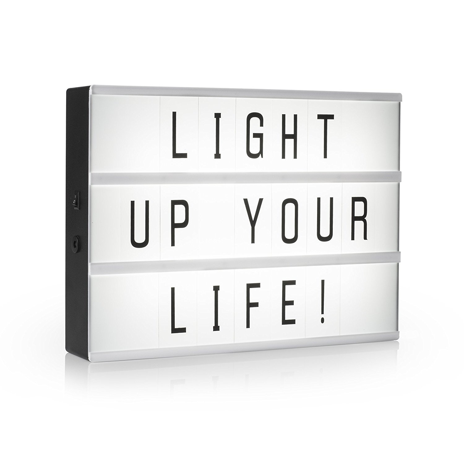 Light Up Letters For Sale Australia Smartwares Iol 003 Bw Lightbox A3 Led Incl 85 Characters By