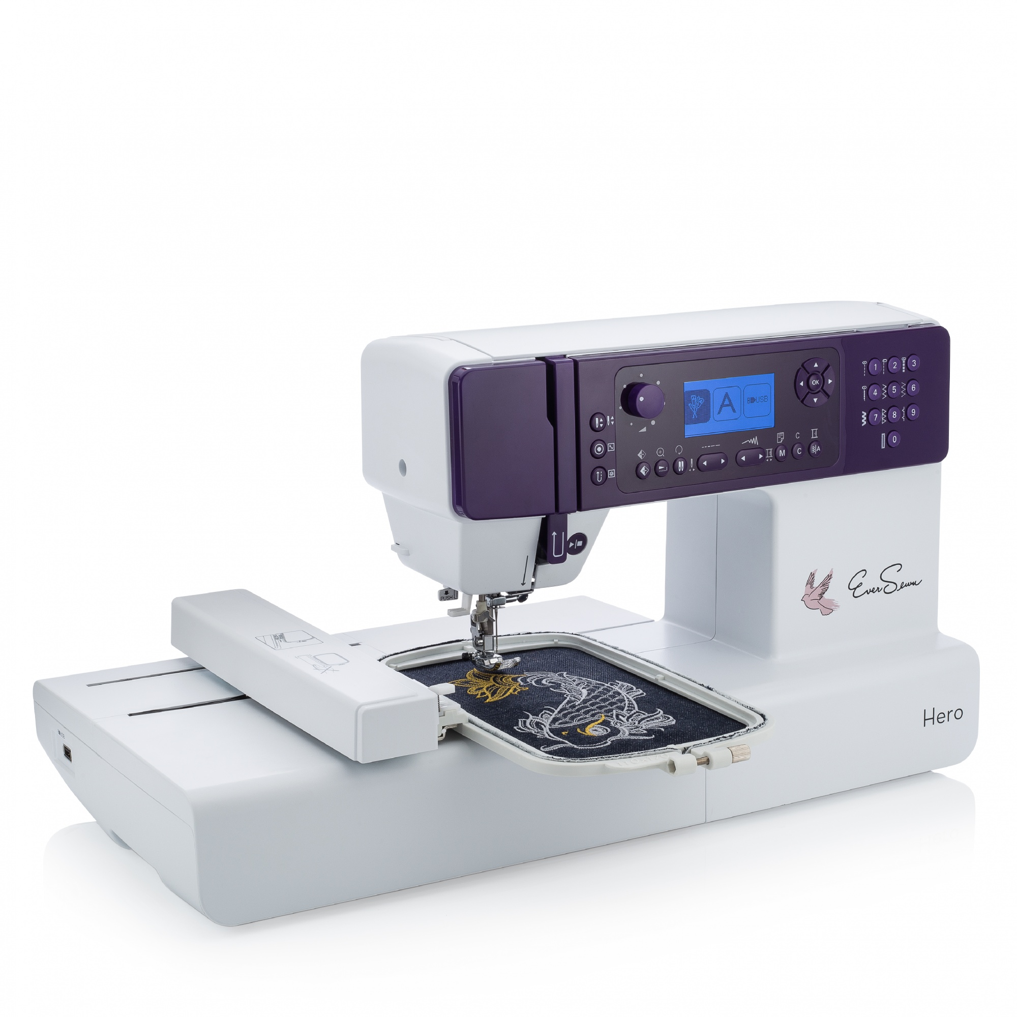 Cheap Sewing Machines Australia Eversewn Hero 400 Stitch Multi Featured Durable Sewing