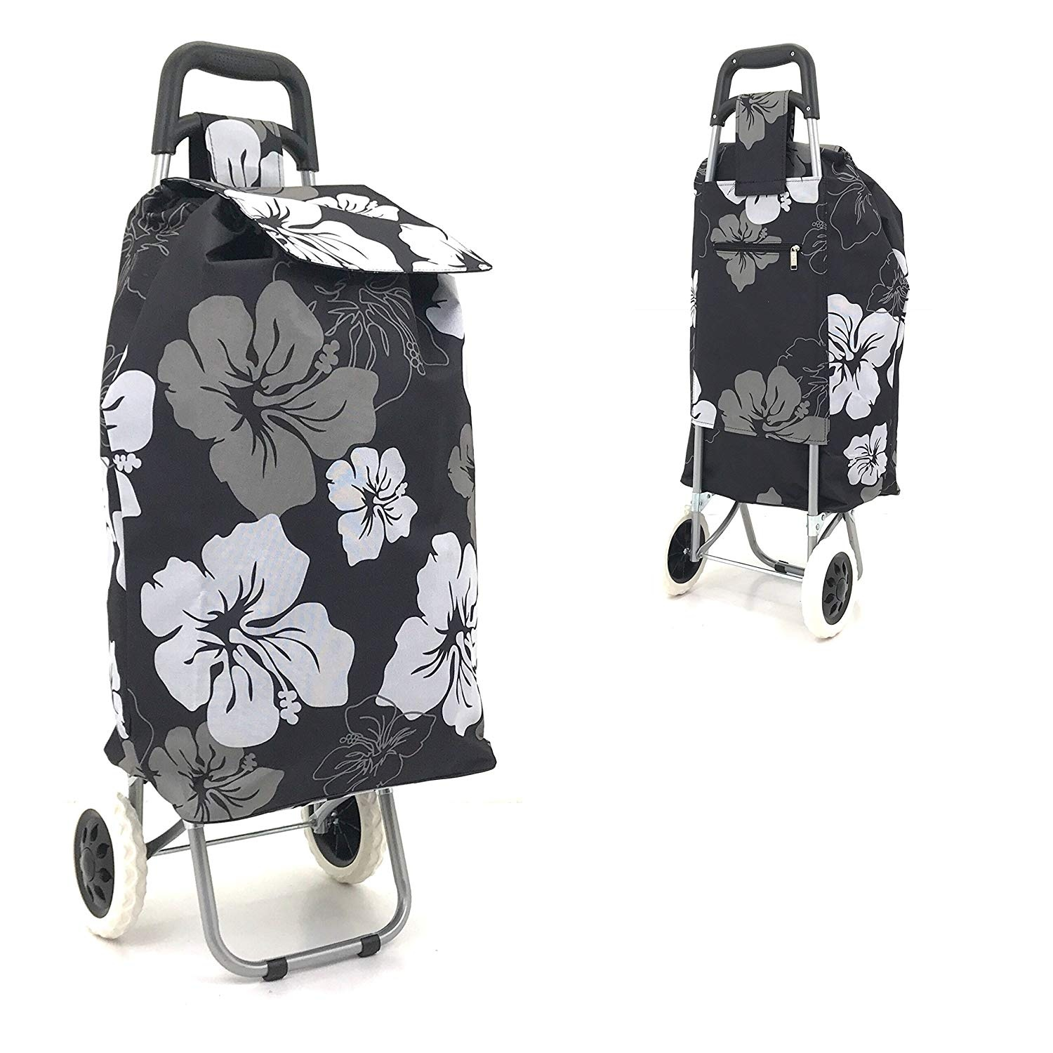 Shopping Trolley Bag On Wheels Australia Large Folding Wheeled Funky Shopping Trolley Strong Waterproof