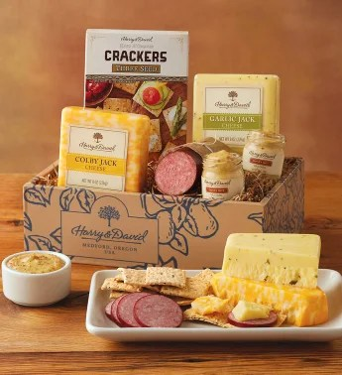 Sausage And Cheese Gift Box Harry David