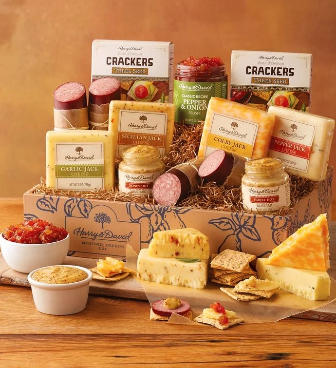 Gourmet Sausage And Cheese Gift Harry David