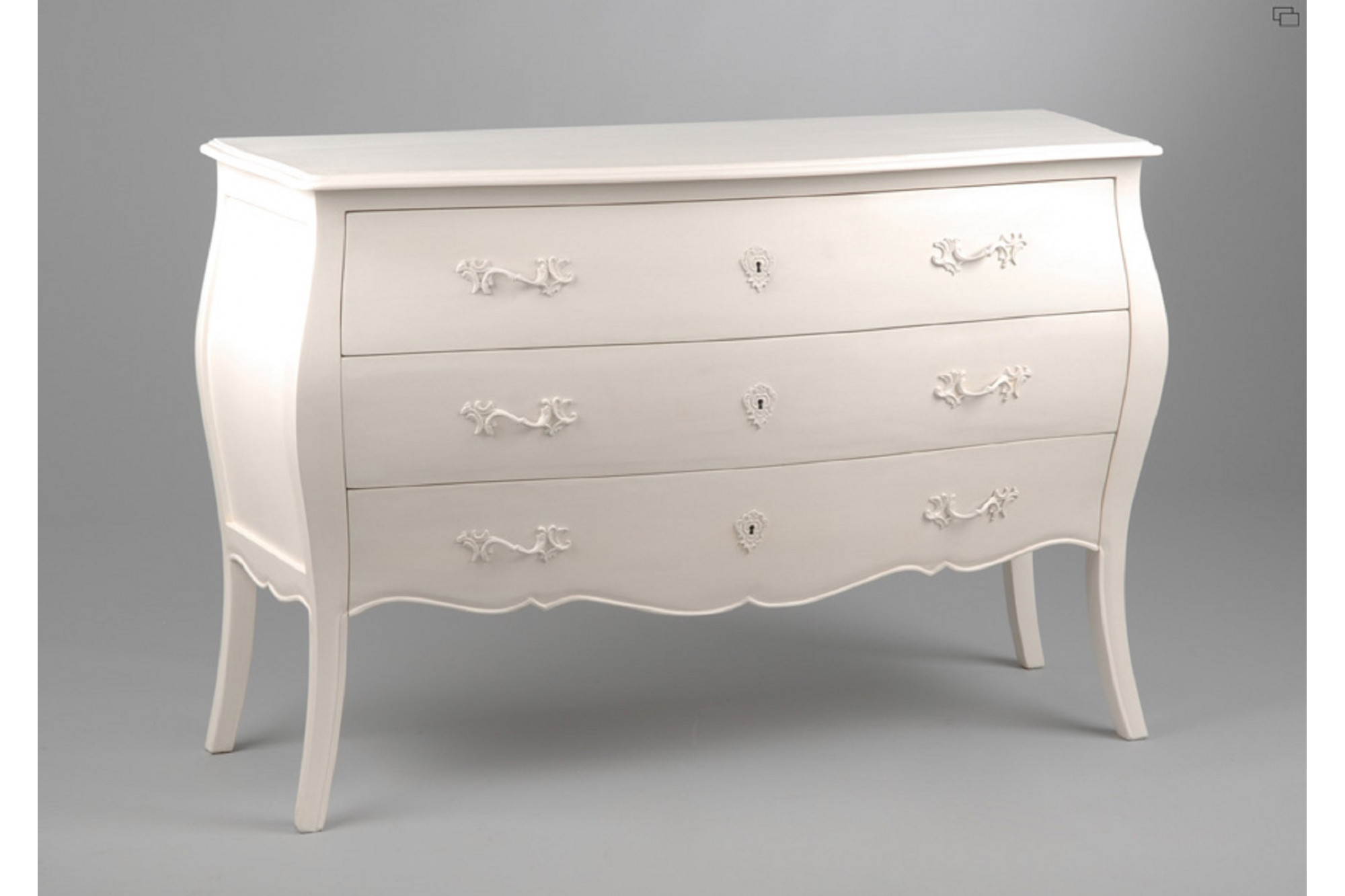 Commode Vetements Commode Muriane En Bois Blanc 3 Tiroirs Hellin