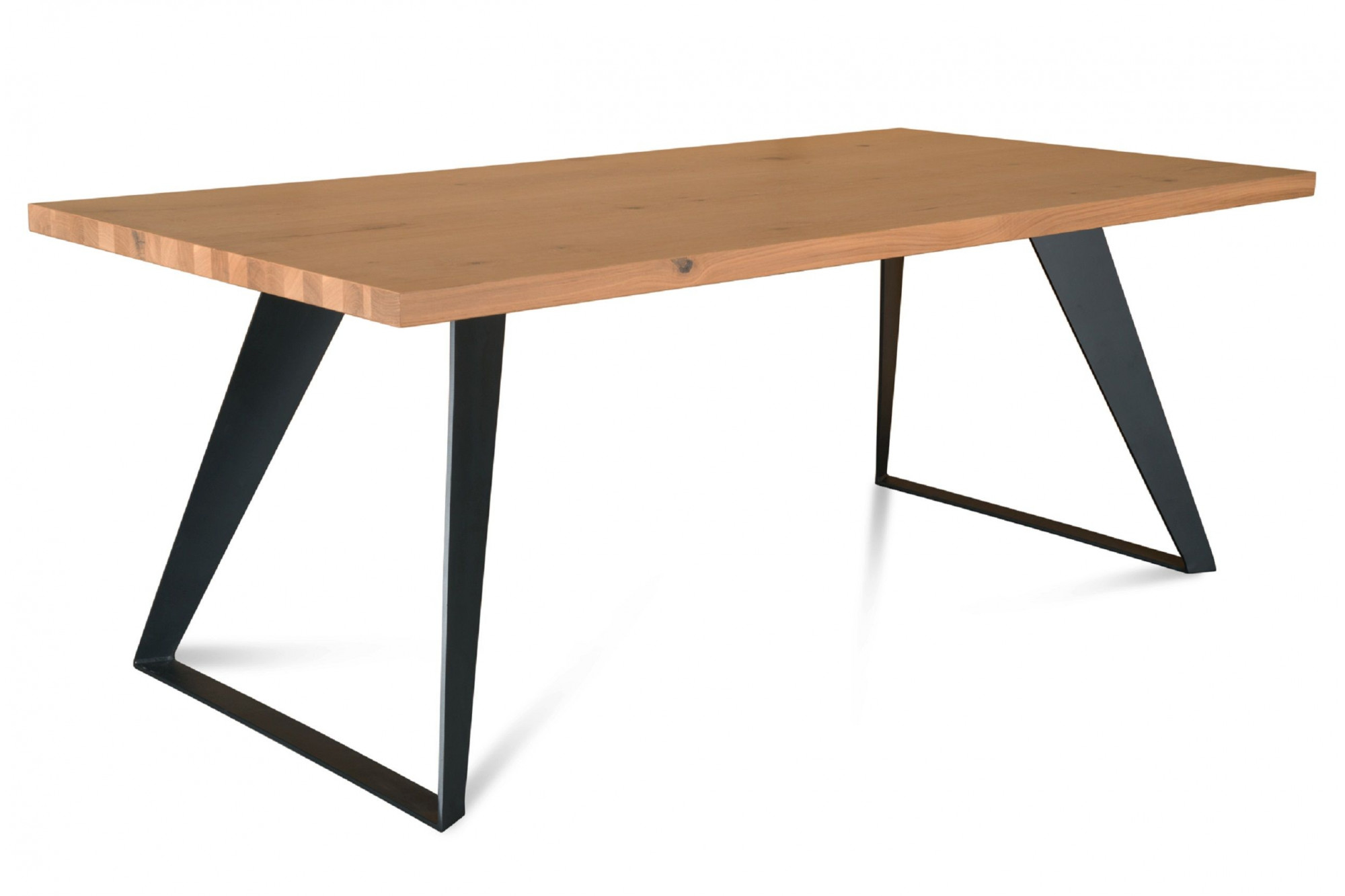 Table Bois Massif Extensible Table Extensible Rectangulaire Et Moderne Hellin