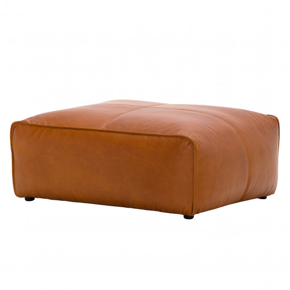 Polsterhocker Hudson Polsterhocker Hudson Echtleder | Home24