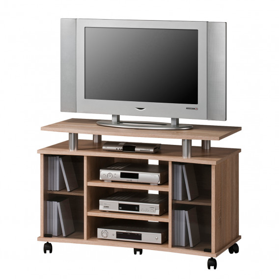 Home24 Badmöbel Tv-rack Eutin - Eiche Sonoma Dekor | Home24