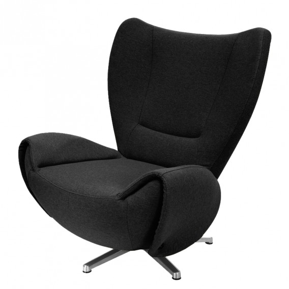 Rollershop Tv Sessel Tom Fauteuil Pivotant Tom | Home24.fr