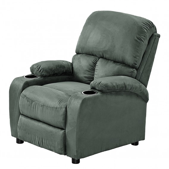 Home24 Ch Fauteuil De Relaxation Norvell - Microfibre | Home24.ch