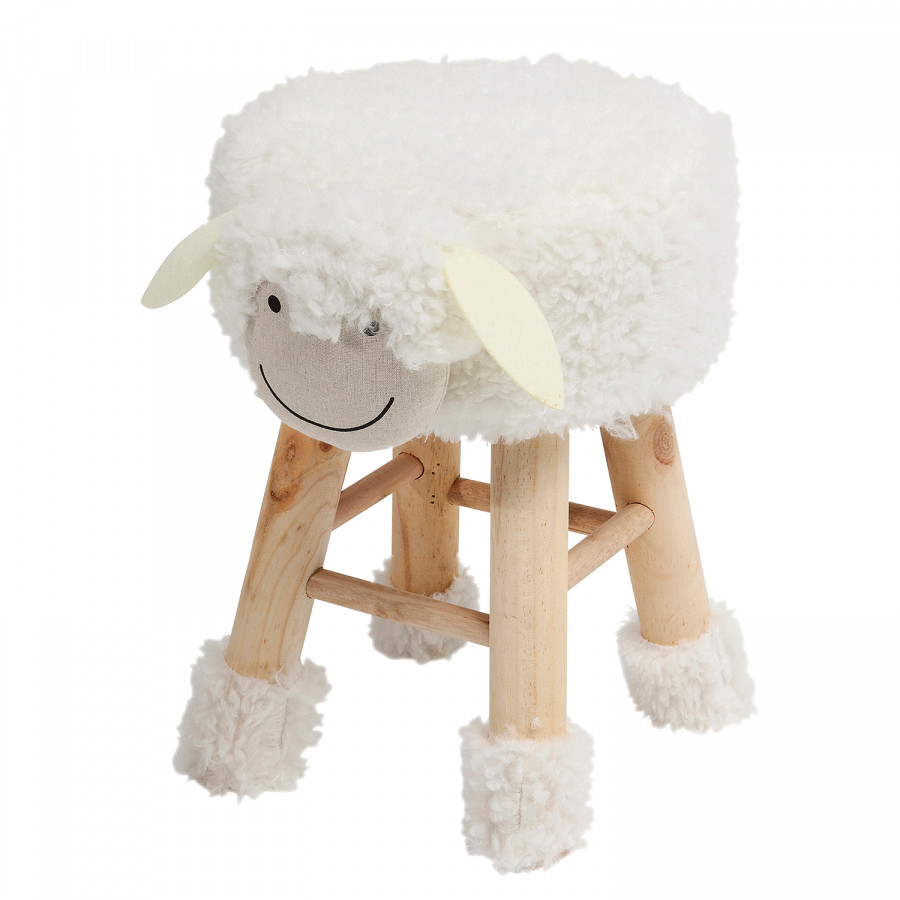 Kare Design Hocker Fell Hocker Funny Sheep