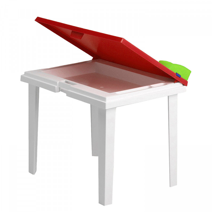 Table De Jardin Rouge Table De Jardin Enfant Aladino