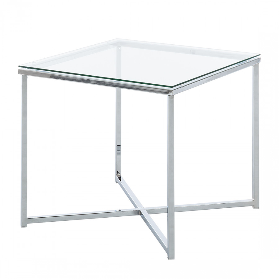 Table Appoint Verre Table D Appoint Cross