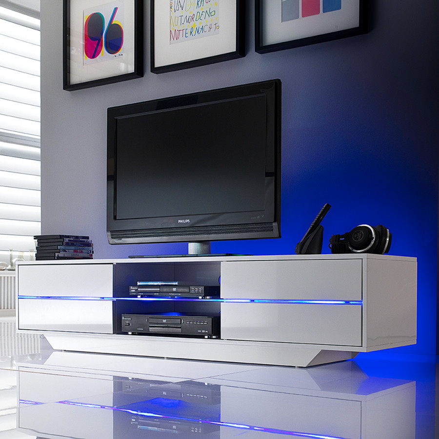 Tv Sideboard Mit Led Tv Lowboard Claire