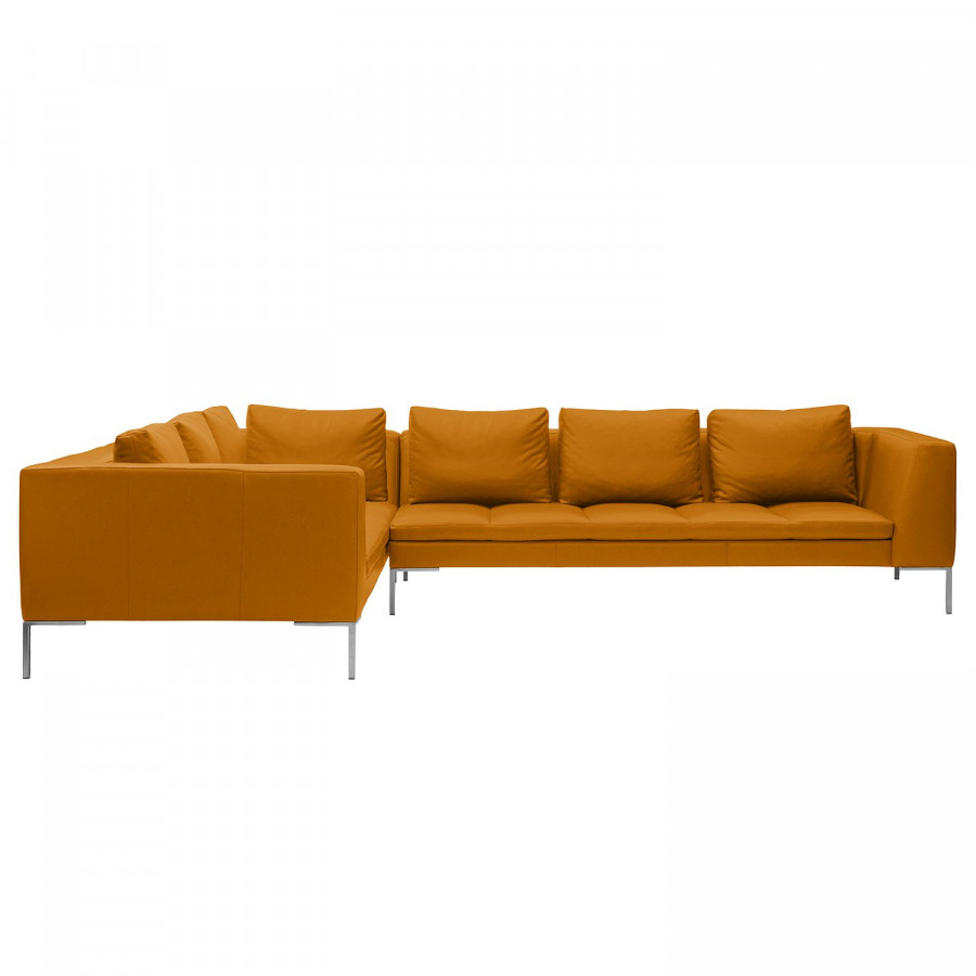 Ecksofa Minimalistisch Ecksofa Madison Ii Echtleder Fashion For Home