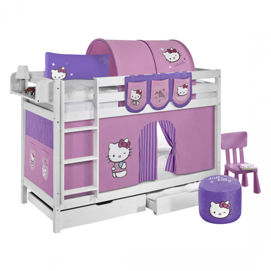 Hello Kitty Sessel Etagenbett Jelle Hello Kitty Lila