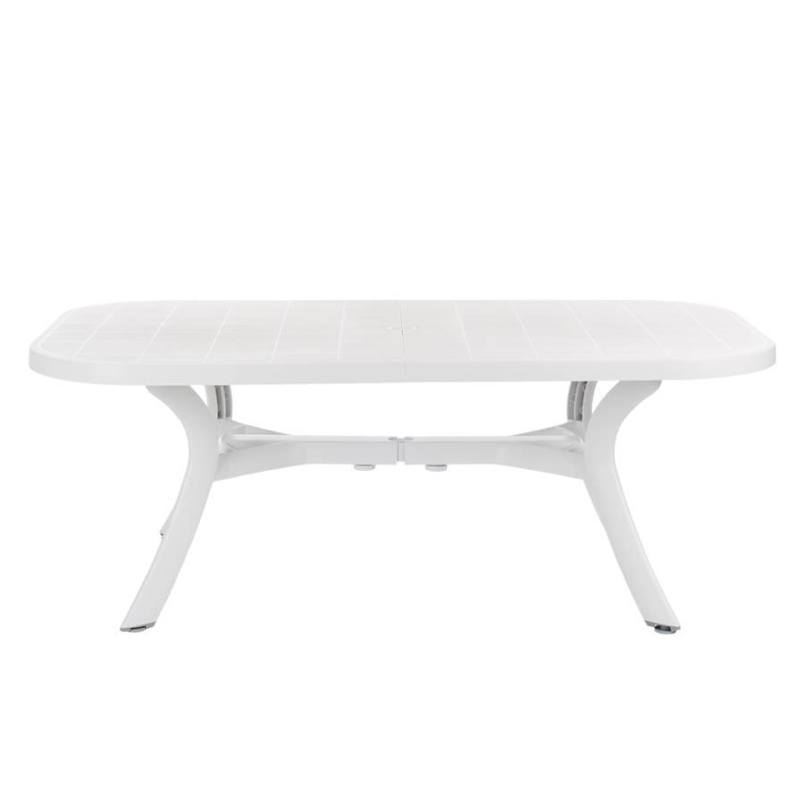 Gartentisch Oval Kunststoff Gartentisch Klappbar Kunststoff
