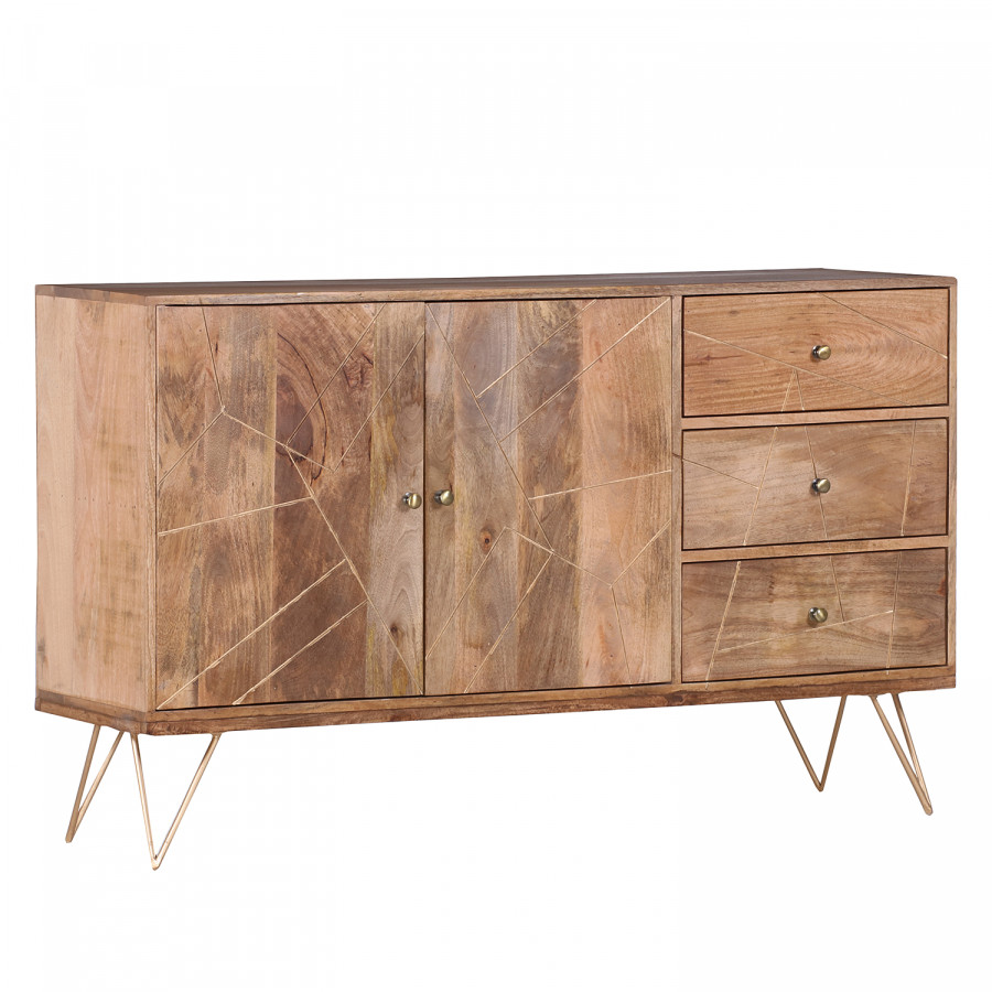 Highboard Metall Sideboard Argallo